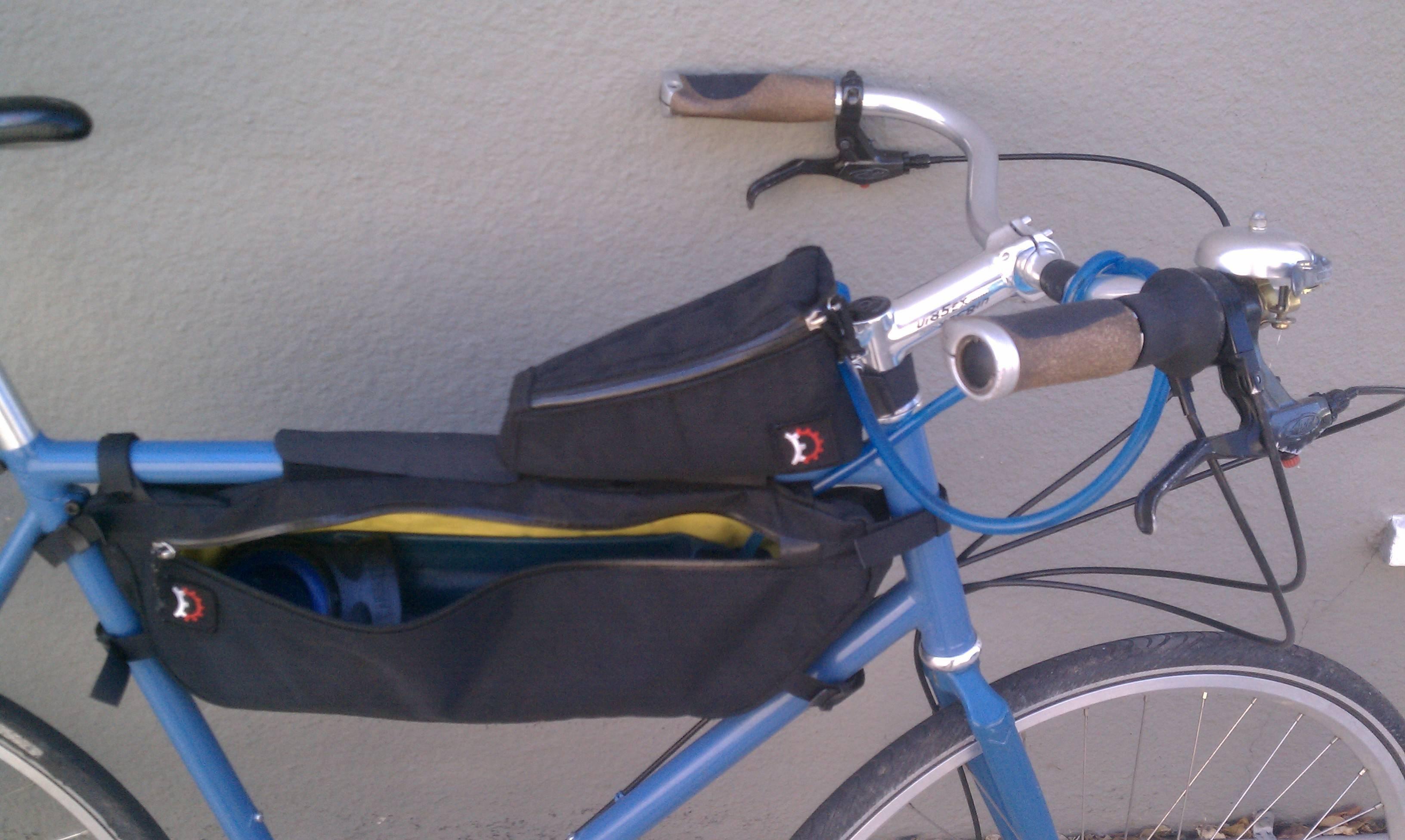 Camelbak in Revelate Designs Tangle Bag
